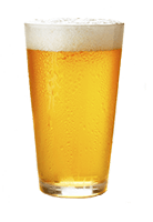 large pint beer