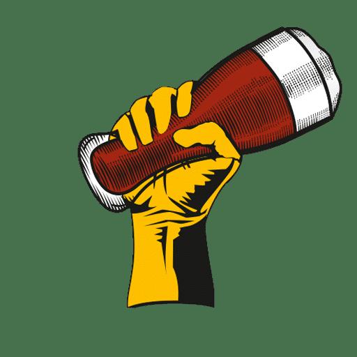 beer revolution hand